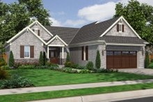 Traditional Exterior - Front Elevation Plan #46-467