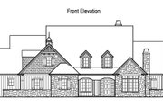 Traditional Style House Plan - 5 Beds 4.5 Baths 4619 Sq/Ft Plan #490-10 Exterior - Other Elevation