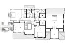 Traditional Floor Plan - Upper Floor Plan Plan #497-46