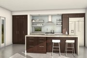Modern Style House Plan - 3 Beds 2.5 Baths 2200 Sq/Ft Plan #497-18 Interior - Kitchen