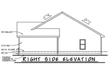 Country Exterior - Other Elevation Plan #20-2226
