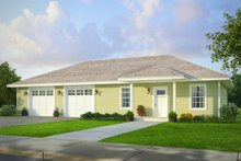 House Plan Design - Traditional Exterior - Front Elevation Plan #124-995