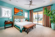 Beach Style House Plan - 5 Beds 6.5 Baths 5797 Sq/Ft Plan #938-102 Interior - Bedroom