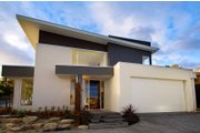 Modern Style House Plan - 4 Beds 2.5 Baths 3146 Sq/Ft Plan #496-19 Exterior - Front Elevation