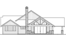 Dream House Plan - Craftsman Exterior - Other Elevation Plan #124-988