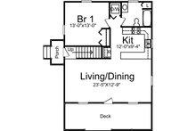 Cottage Floor Plan - Main Floor Plan Plan #57-240