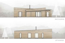 Cabin Exterior - Other Elevation Plan #924-2