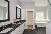 Craftsman Style House Plan - 4 Beds 3.5 Baths 2251 Sq/Ft Plan #119-425 Interior - Master Bathroom