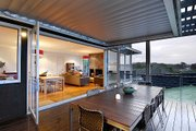 Modern Style House Plan - 4 Beds 3.5 Baths 3209 Sq/Ft Plan #496-14 Photo