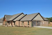 Tudor Style House Plan - 4 Beds 3.5 Baths 2342 Sq/Ft Plan #45-372 Exterior - Front Elevation