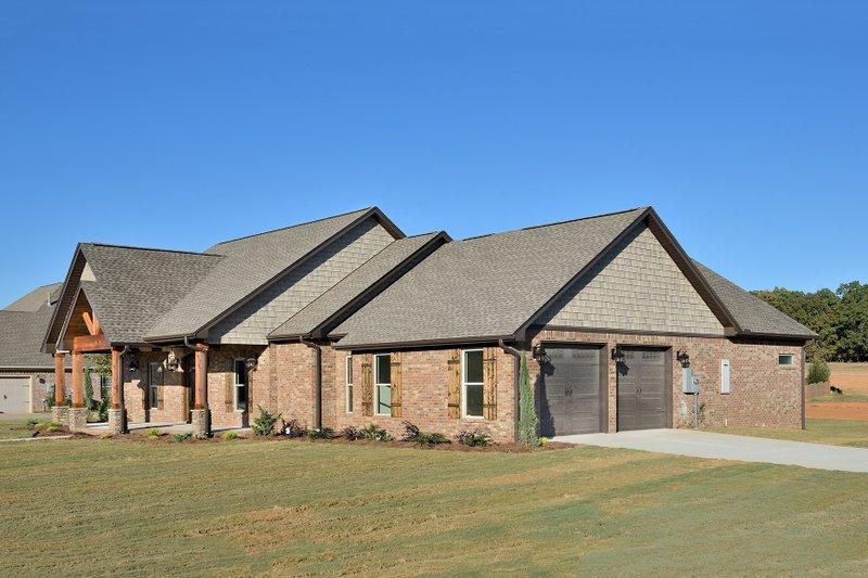 Tudor Exterior - Front Elevation Plan #45-372 - Houseplans.com