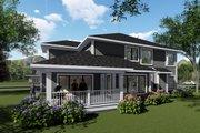 Modern Style House Plan - 4 Beds 3.5 Baths 3066 Sq/Ft Plan #70-1429