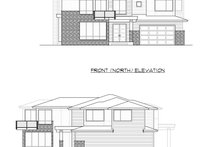 Dream House Plan - Contemporary Exterior - Other Elevation Plan #1066-97