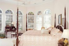 House Plan Design - Mediterranean Interior - Bedroom Plan #54-187