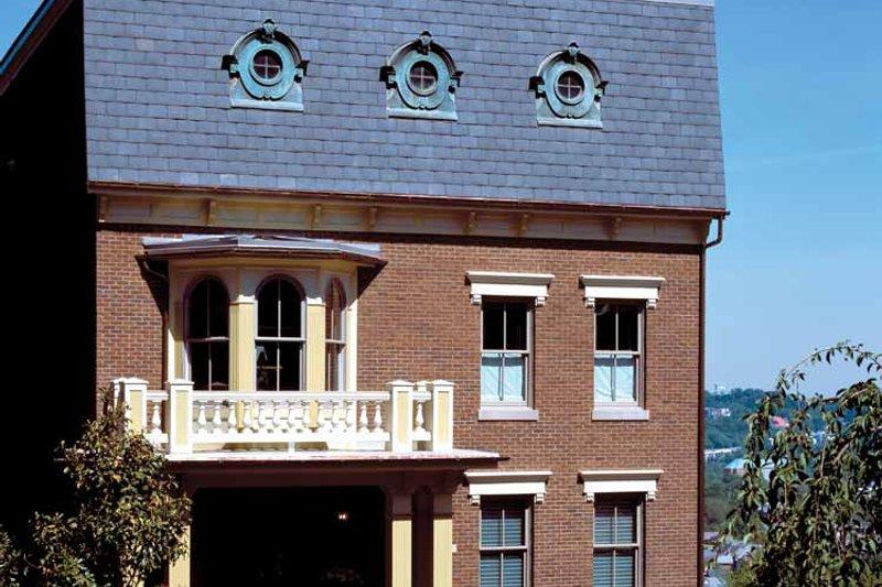 European Exterior - Front Elevation Plan #46-757 - Houseplans.com