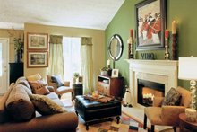 Country Interior - Family Room Plan #927-132