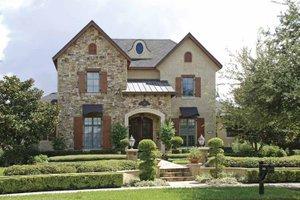 Dream House Plan - European Exterior - Front Elevation Plan #1019-5