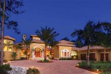 Architectural House Design - Mediterranean Exterior - Front Elevation Plan #930-327