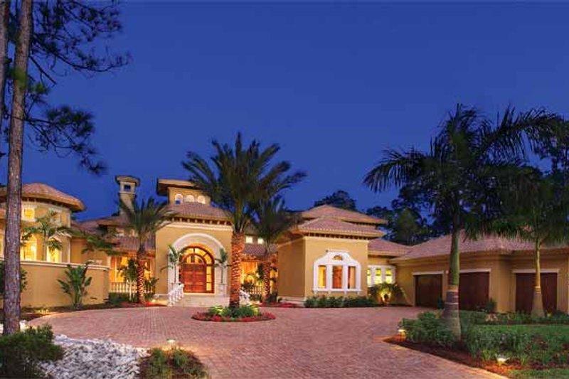 Dream House Plan - Mediterranean Exterior - Front Elevation Plan #930-327