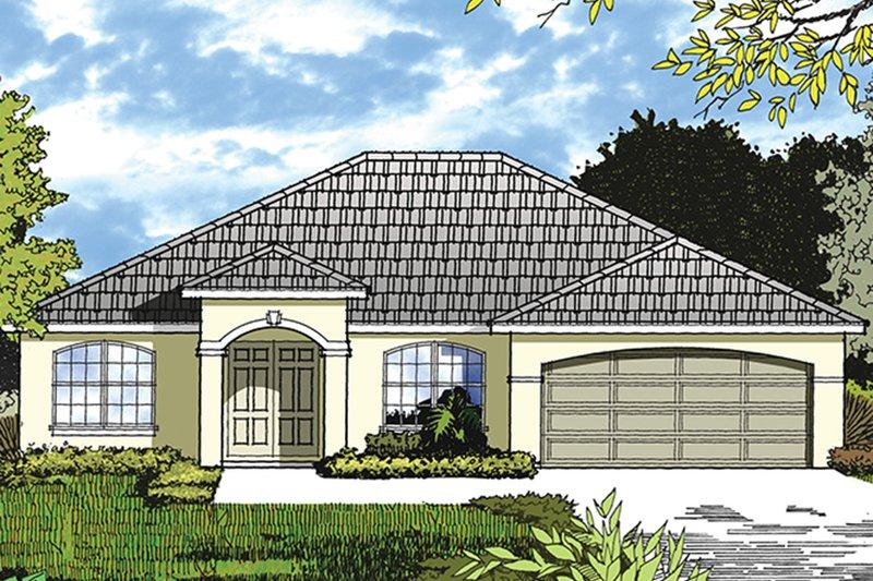House Plan Design - Ranch Exterior - Front Elevation Plan #417-839