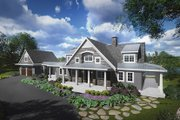 Traditional Style House Plan - 5 Beds 5.5 Baths 5280 Sq/Ft Plan #928-262 Exterior - Front Elevation