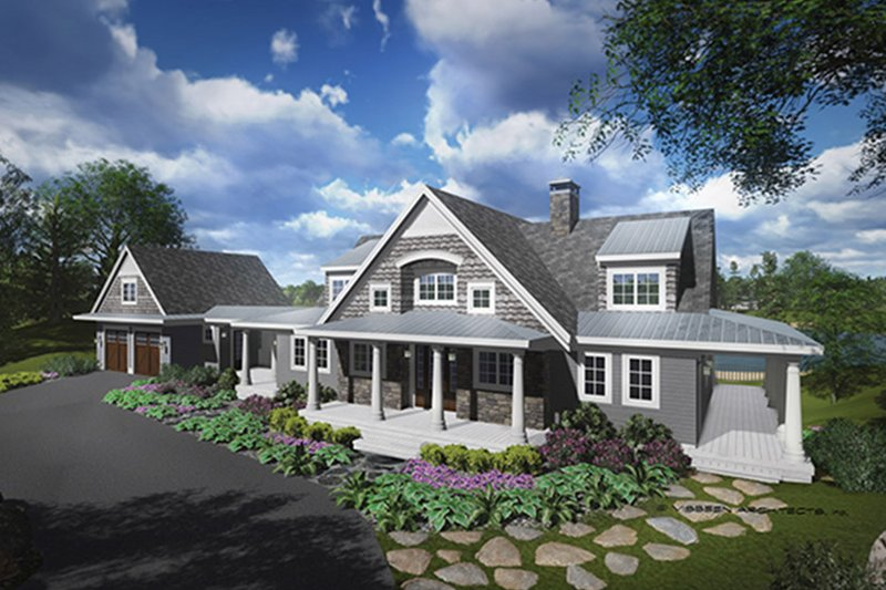Traditional Exterior - Front Elevation Plan #928-262 - Houseplans.com
