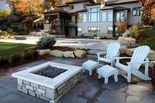 Contemporary Exterior - Outdoor Living Plan #928-261