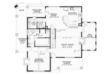 Country Floor Plan - Main Floor Plan Plan #17-3381