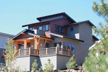 Contemporary Exterior - Front Elevation Plan #895-66