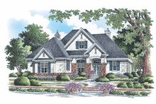 Home Plan - European Exterior - Front Elevation Plan #929-883