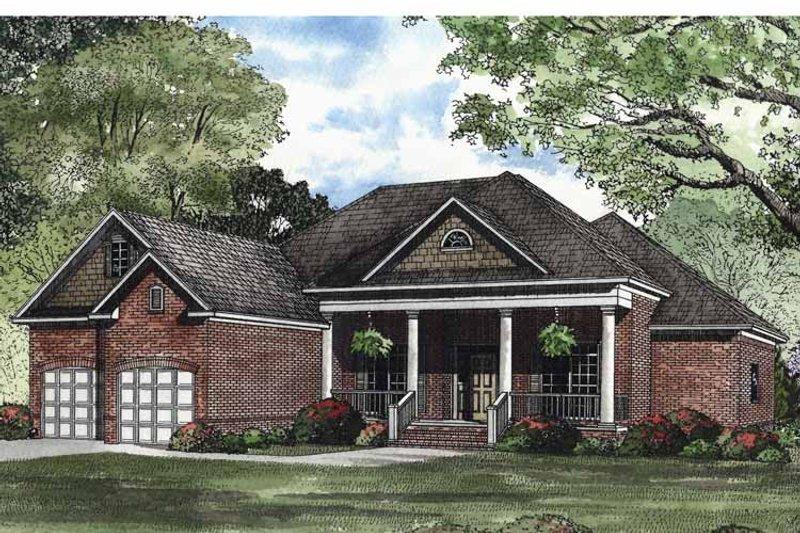 Classical Exterior - Front Elevation Plan #17-2969 - Houseplans.com
