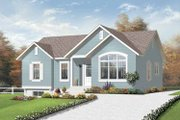 Traditional Style House Plan - 3 Beds 1 Baths 1185 Sq/Ft Plan #23-2378 Exterior - Front Elevation