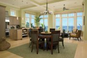 Traditional Style House Plan - 3 Beds 3.5 Baths 3098 Sq/Ft Plan #928-95 Interior - Dining Room