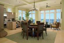 Architectural House Design - Traditional Interior - Dining Room Plan #928-95