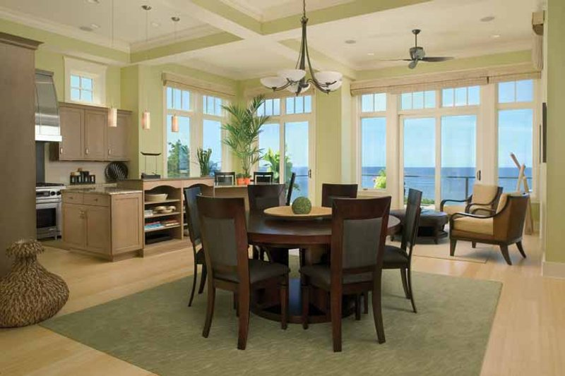 Traditional Interior - Dining Room Plan #928-95 - Houseplans.com