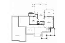 Ranch Floor Plan - Lower Floor Plan Plan #316-288