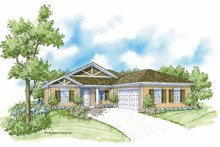 House Design - Country Exterior - Front Elevation Plan #930-363