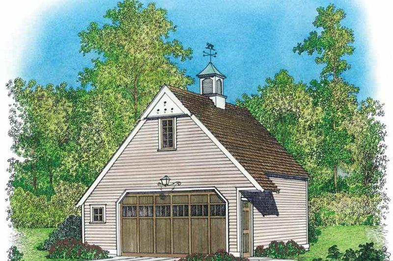 Colonial Exterior - Front Elevation Plan #1016-82 - Houseplans.com