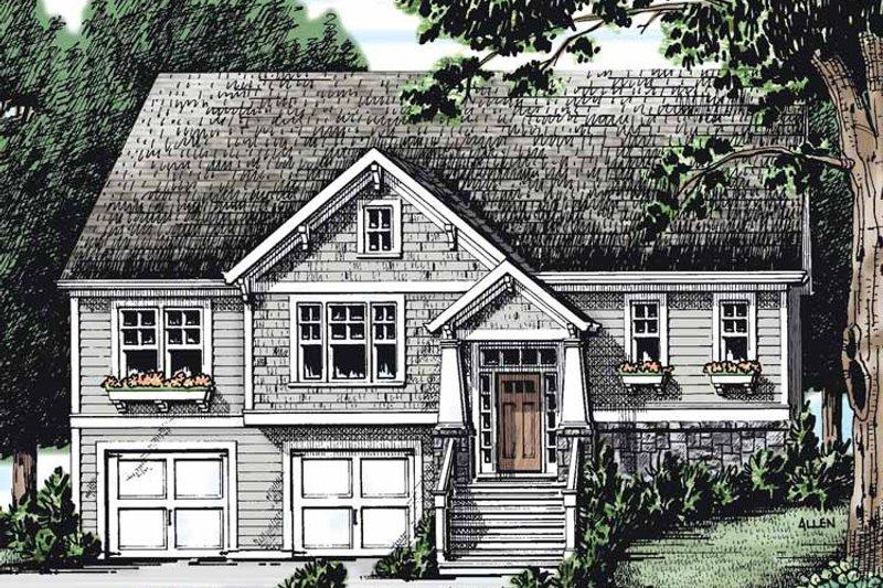 Craftsman Exterior - Front Elevation Plan #927-266 - Houseplans.com