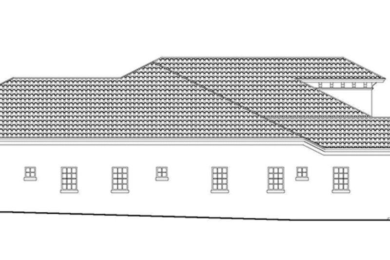 Mediterranean Exterior - Other Elevation Plan #930-418 - Houseplans.com