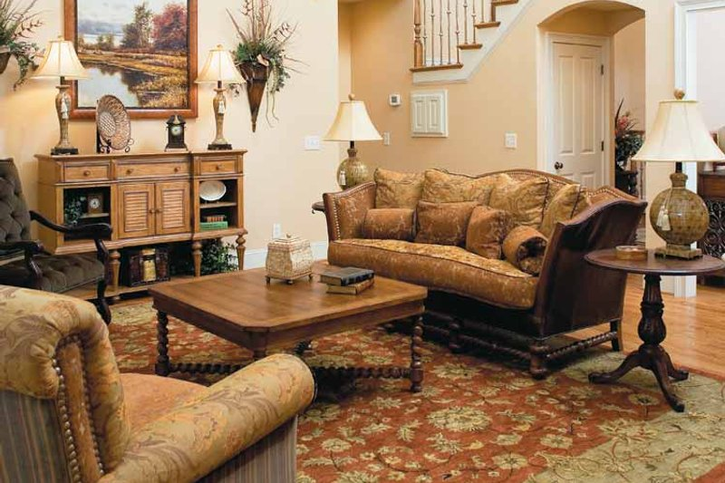 Craftsman Interior - Family Room Plan #927-133 - Houseplans.com