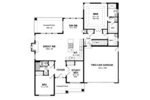 Ranch Floor Plan - Main Floor Plan Plan #316-284
