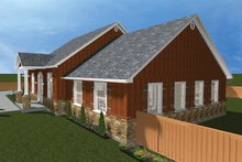 Ranch Exterior - Other Elevation Plan #1060-23