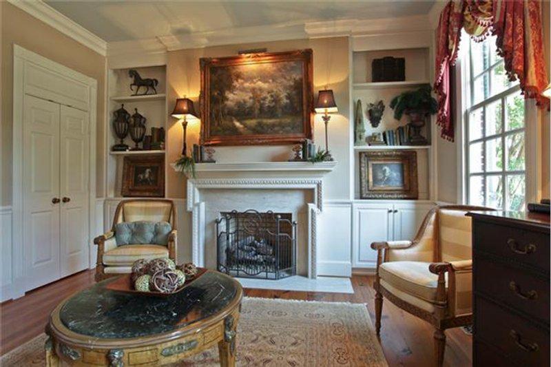 Classical Interior - Family Room Plan #137-311 - Houseplans.com