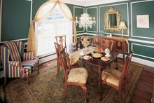 Colonial Interior - Dining Room Plan #929-571