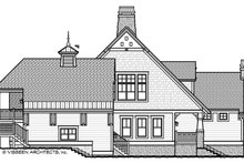 House Plan Design - Craftsman Exterior - Other Elevation Plan #928-280