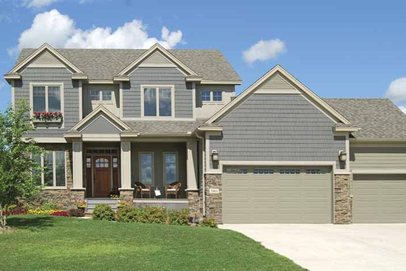 Home Plan - Craftsman Exterior - Front Elevation Plan #320-1001