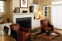 Architectural House Design - Victorian Interior - Family Room Plan #929-557