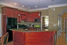 Country Interior - Kitchen Plan #314-232