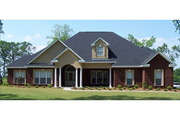 Traditional Style House Plan - 3 Beds 2.5 Baths 2785 Sq/Ft Plan #63-311 Exterior - Front Elevation